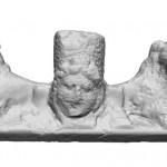Gabajeva Greda, Rimsko Carstvo, 3.-4.st. - nadgrobna stela (3D model), MGKc 10960