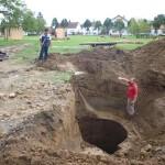 Sonda u tijeku iskopavanja...