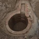 Istražena cisterna s dovodnim kanalom.