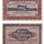 Njemački novac od 1 milijun maraka, 1923., MGKc 10490
