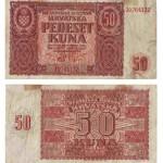 Novac NDH od 50 kuna, 1941., MGKc 8875