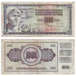 Novac SFRJ od 1000 dinara, 1981., MGKc 10768