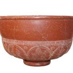 Novačka - Tumuli, Rimsko Carstvo, 2.-3.st. - keramička zdjela, terra sigilatta, MGKc 2654