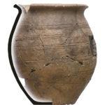Torčec - Prečno pole I, rani srednji vijek - keramički lonac, MGKc 12101