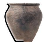 Torčec - Ledine, rani srednji vijek - keramički lonac, MGKc 12380